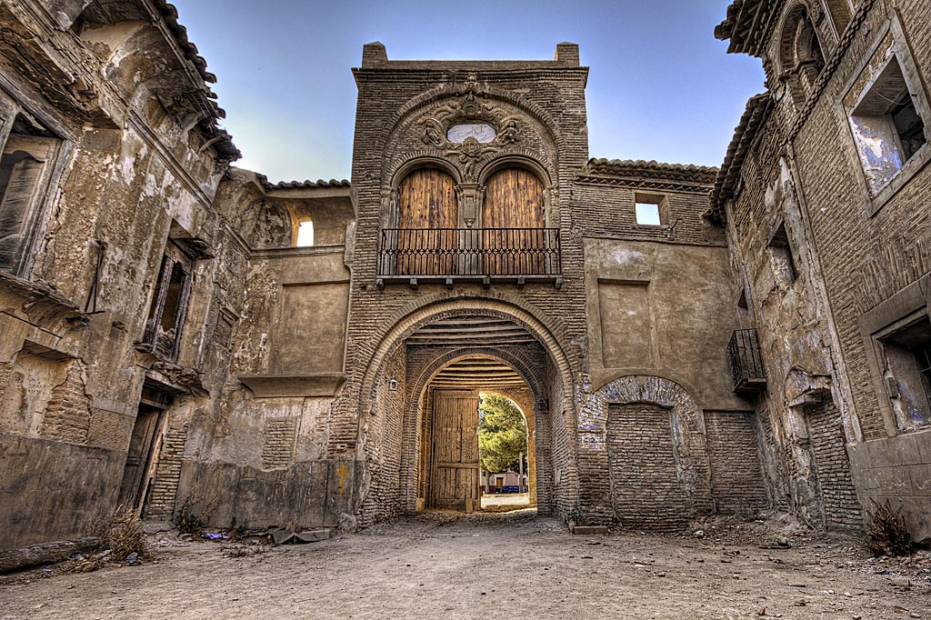 Belchite, İspanya