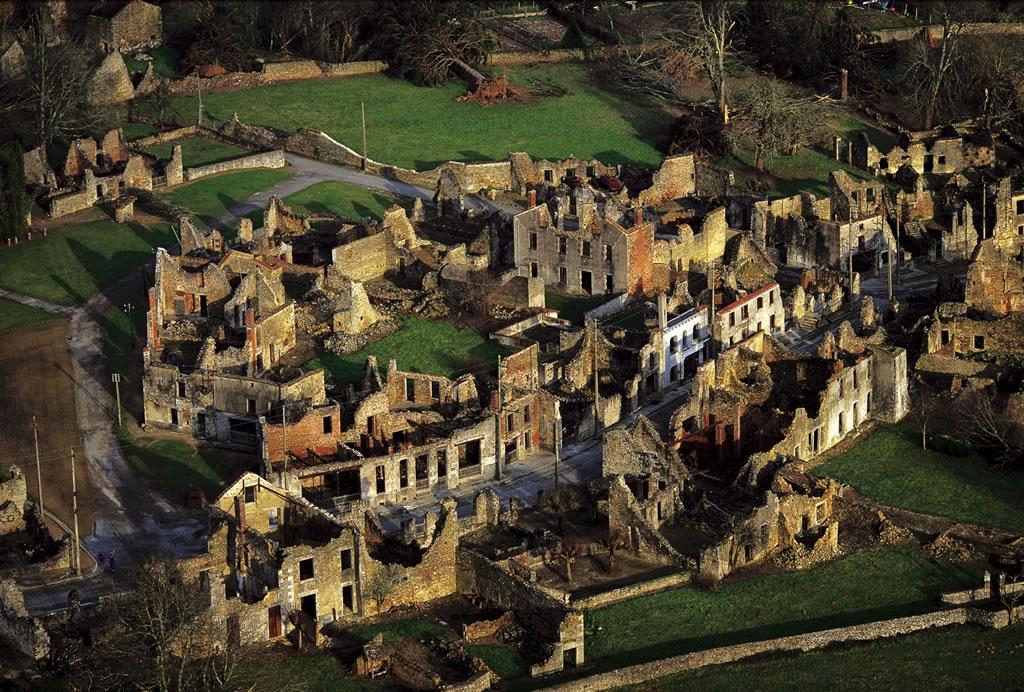 Oradour-sur- Galane, Fransa