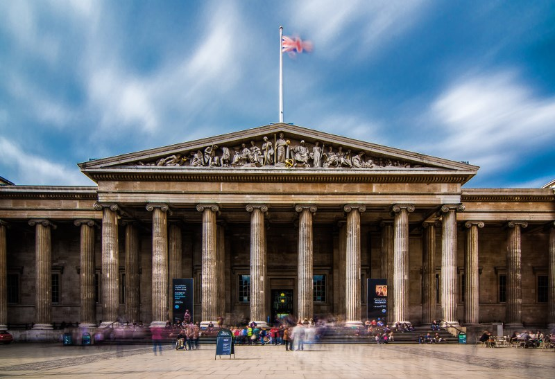 The British Museum, Londra, İngiltere
