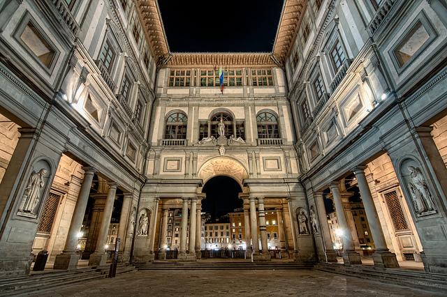 The Uffizi Gallery, Floransa, İtalya