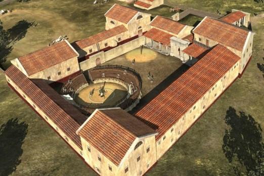 Romalılara Ait Gladyatör Okulu Dijital Olarak Canlandırıldı