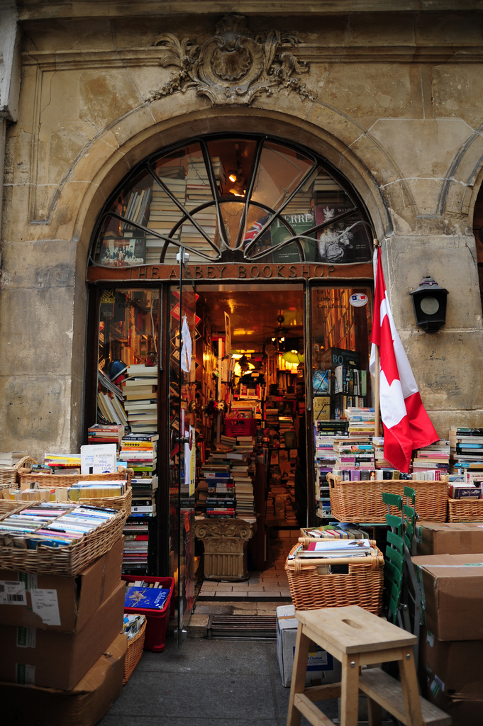 The AbbeyBookstore, Paris, Fransa