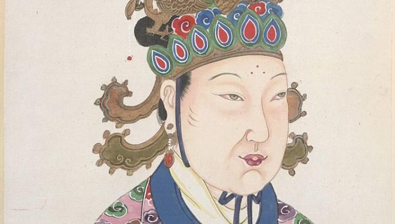 çin kadın hükümdar
