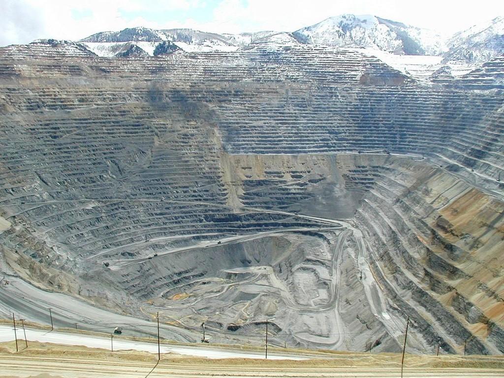 Bingham Kanyon Madeni, Amerika