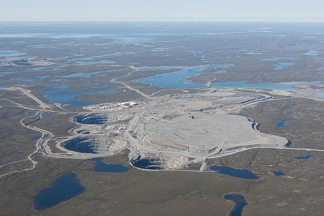 Ekati Elmas Madeni, Kanada