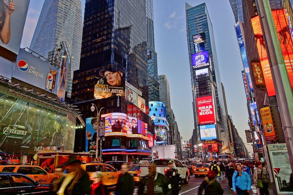 En Meşhur Şehir Meydanları Times Square