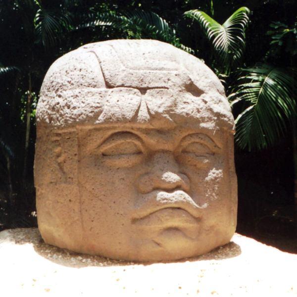 Olmec dev başları, Meksika