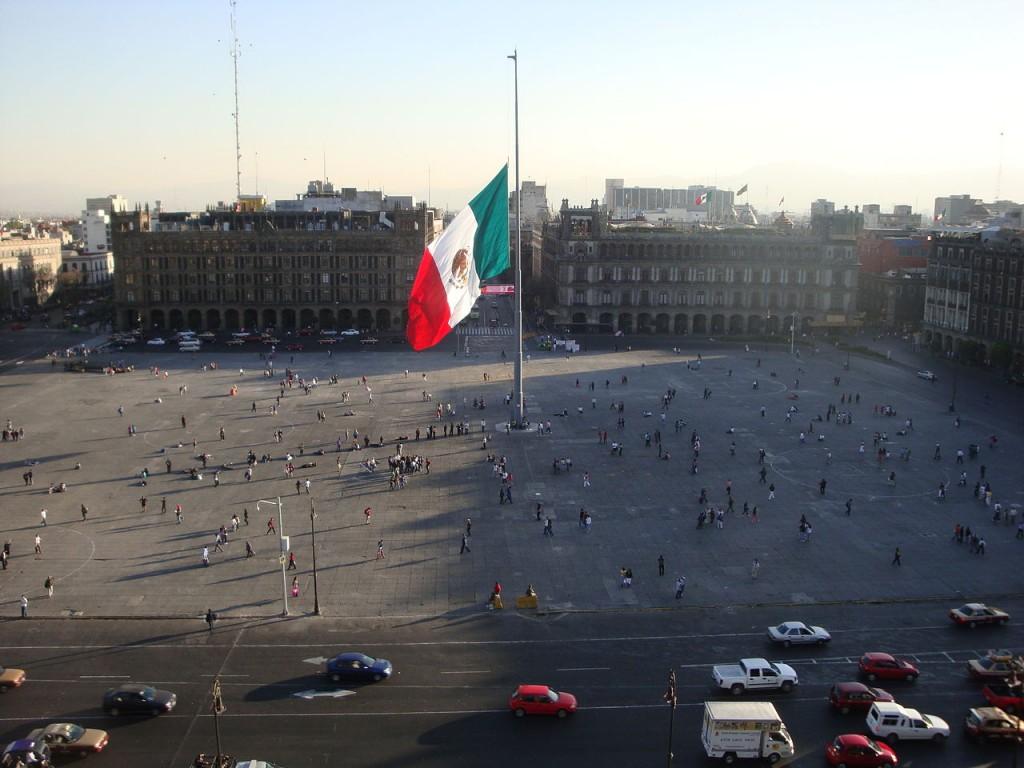 Zocalo Meksika