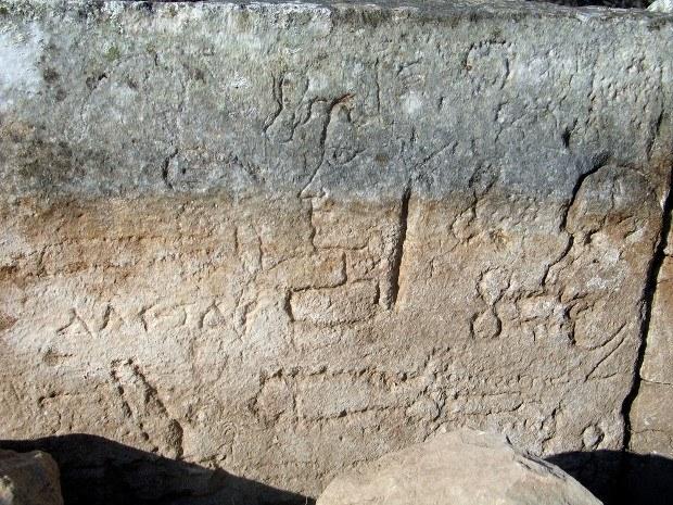 aphrodisias duvar yazısı
