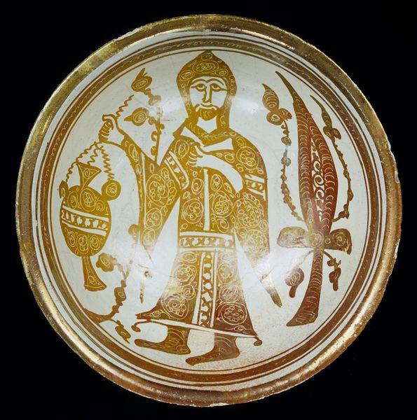 Rahip imgeli kase, MS 1050-1100 [© British Museum Mütevelli Heyeti]