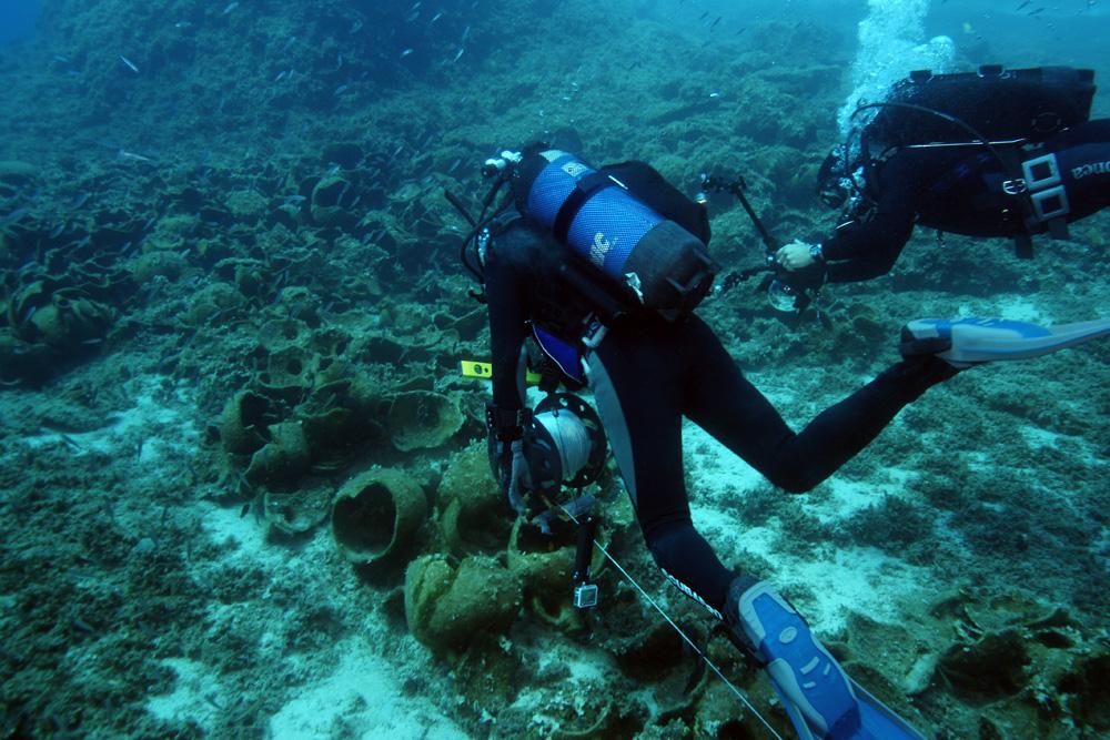 Yunan Adası Yakınında 22 tane Antik Gemi Enkazı Bulundu