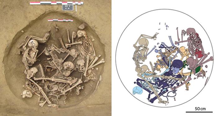 altı bin yıllık iskelet