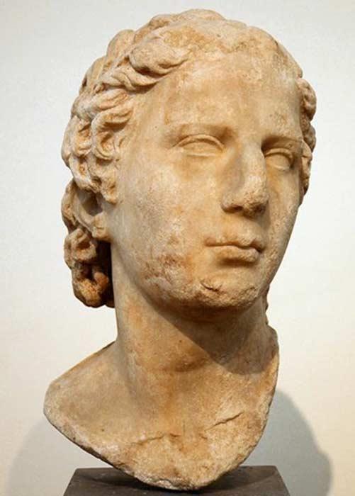 Aristonicus(III. Eumenes)'un büstü