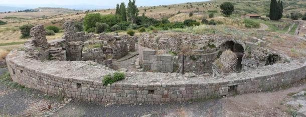 Asklepios Tapınağı,  Pergamon, İzmir