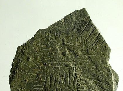 Taş Devri haritaları gitgide Bornholm Adası'nda ortaya çıkmaya başlıyor. (Fotoğraf: NationalMuseum)