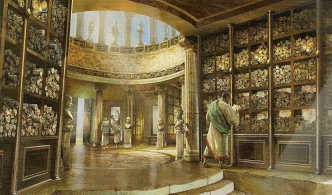 İskenderiye Kütüphanesi'nin Yıkımıyla Beraber Neler Kayboldu?