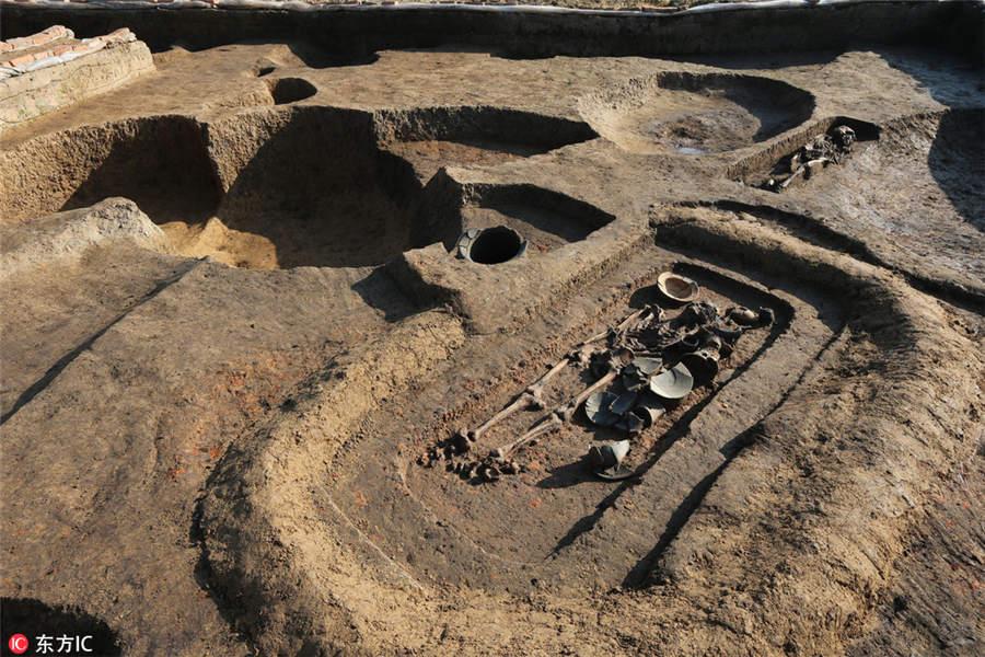 Jiangsu Mezarlarından Çıkarılan Prehistorik Kalıntılar