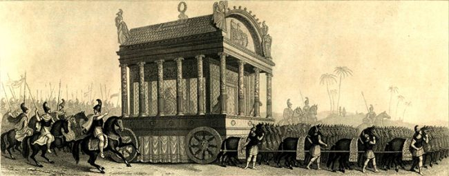 Büyük İskender'in Cenazesi