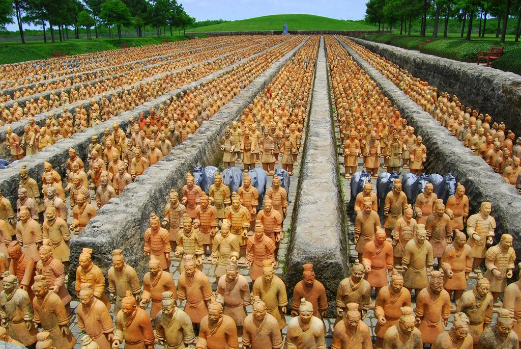 Terracotta Askerler 10 Yıl Sonra İngiltere'de