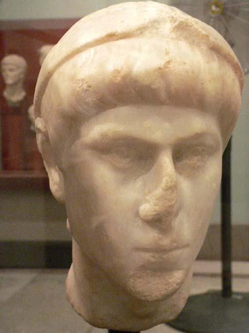 II. Constantius'un büstü