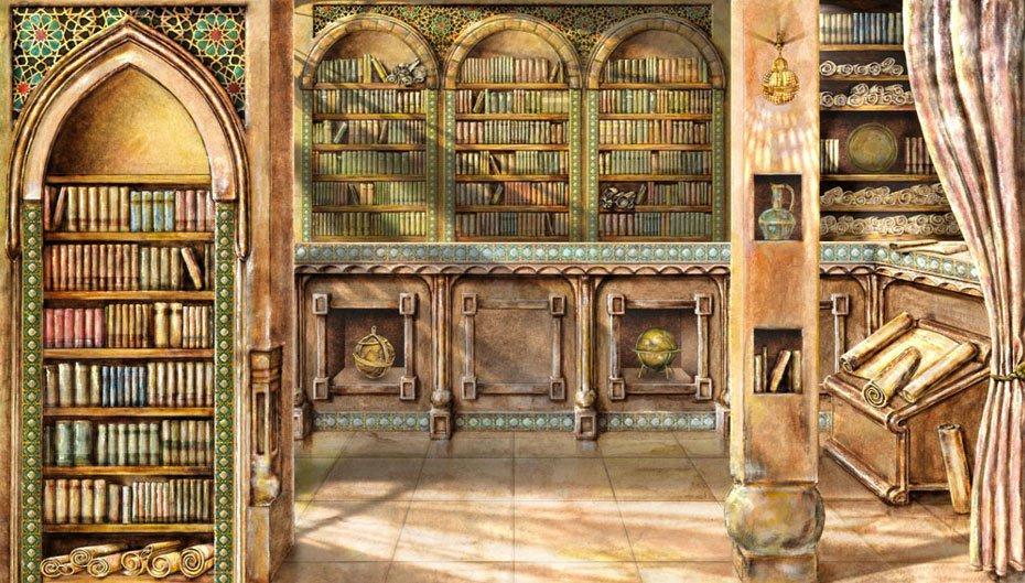 """Ortaçağ'ın Aydınlık Yüzü """"Beyt'ül Hikmet"""" Kütüphanesi"""