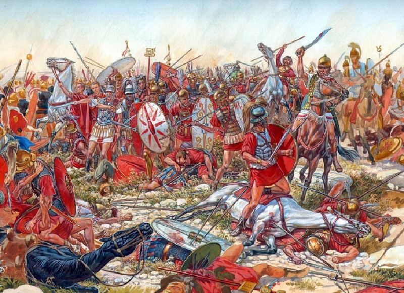 Roma İmparatorluğu'nun Başına Bela Olmuş 10 Düşmanı