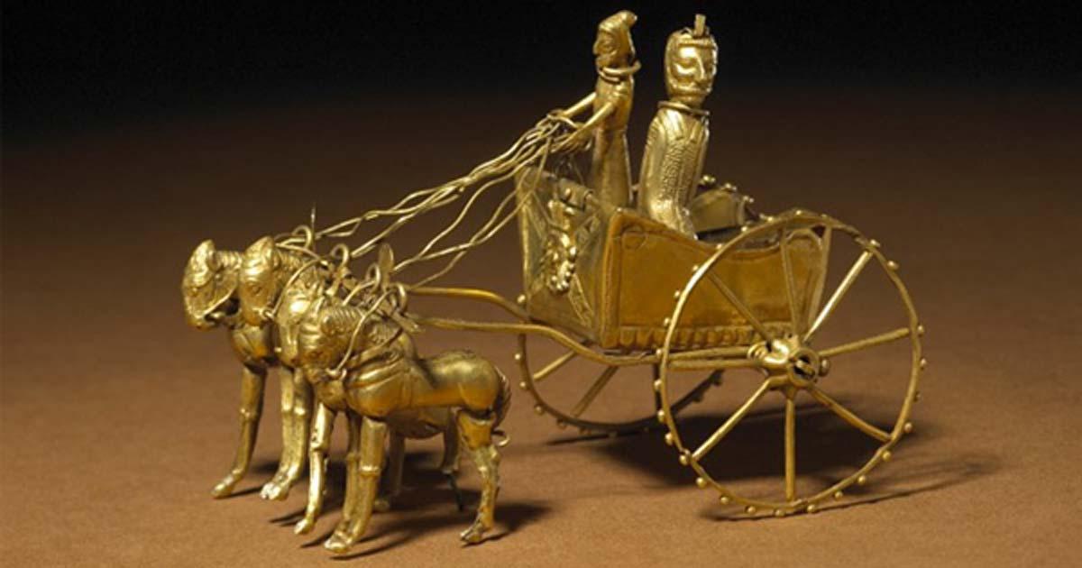 Eski İran'ın Altın ve Gümüşten Yapılmış Eşsiz Hazineleri