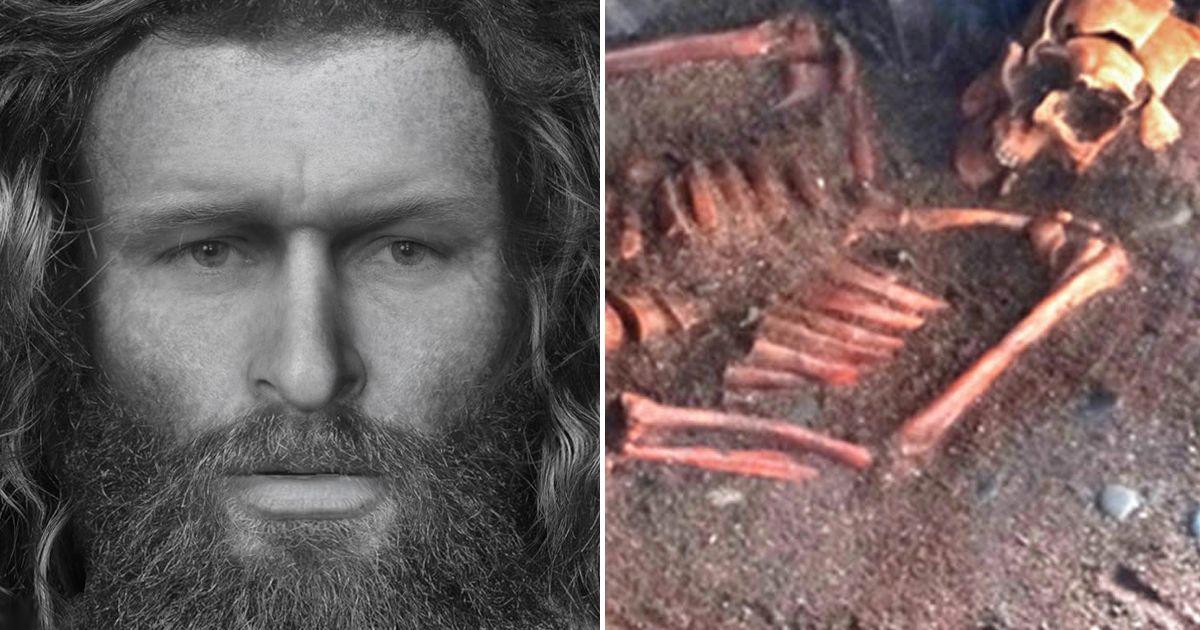Vahşice Öldürülen Pikt Adamın Yüzü Yeniden Oluşturuldu